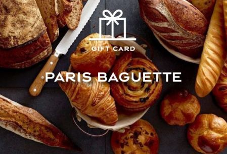 Paris Baguette Gift Card