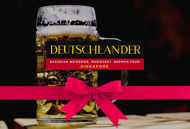 Deutschlander (Paulaner Clarke Quay) Gift Card
